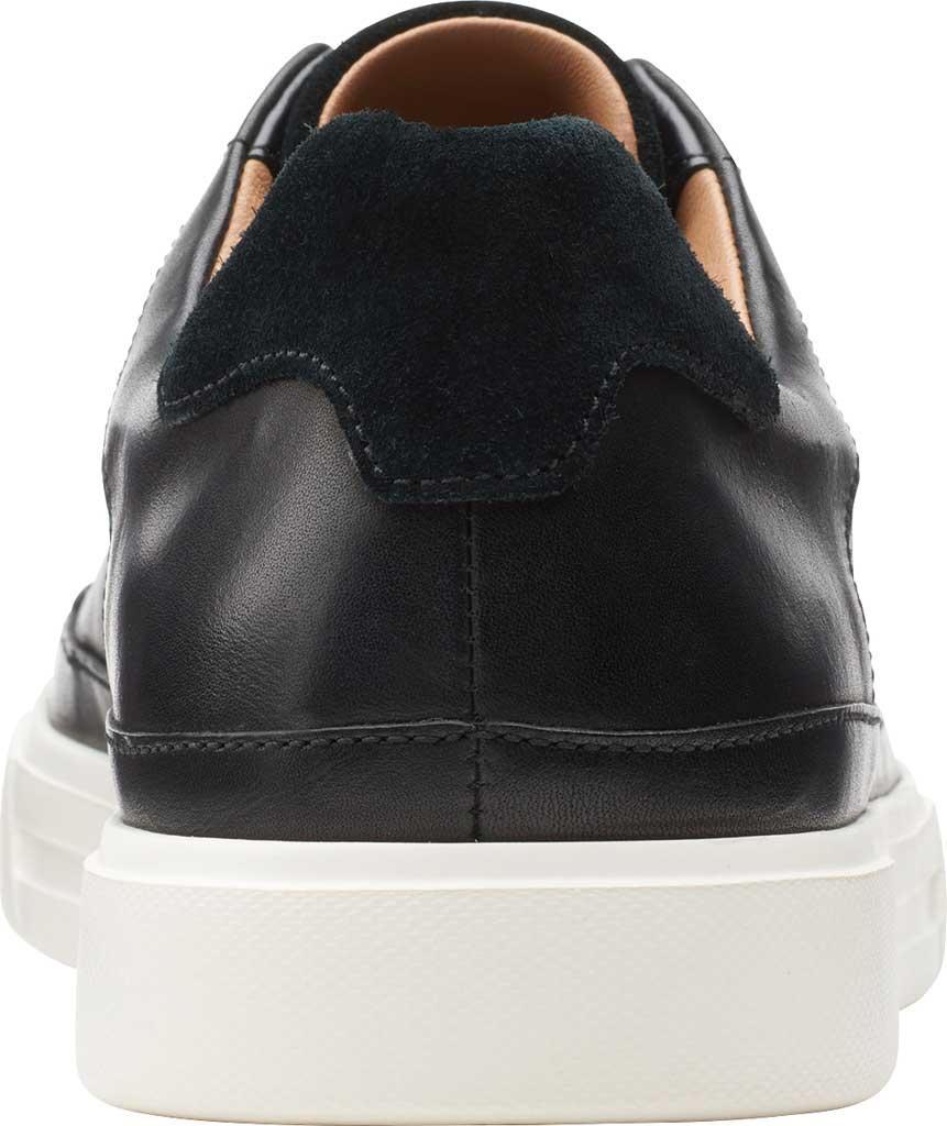 Men's Clarks Un Costa Tie Sneaker, Black Full Grain Leather/Nubuck, large, image 4
