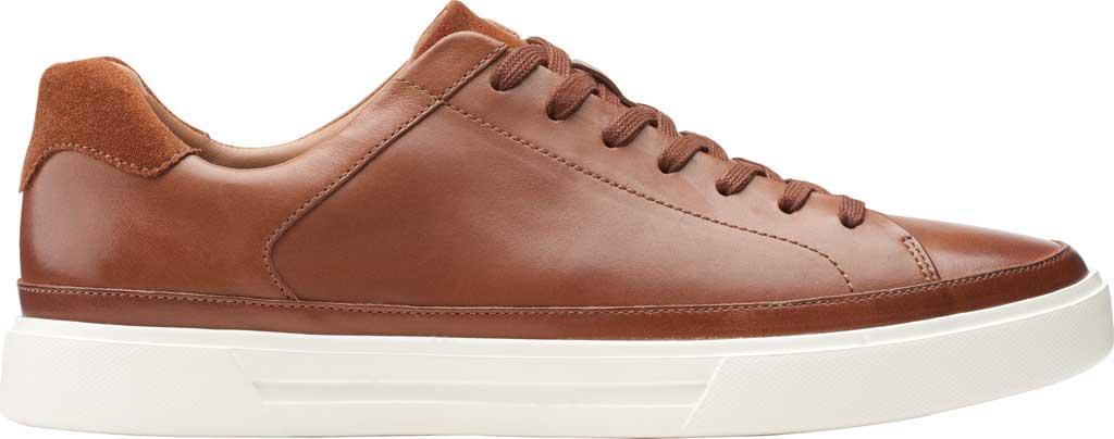 Men's Clarks Un Costa Tie Sneaker, British Tan Full Grain Leather/Nubuck, large, image 2