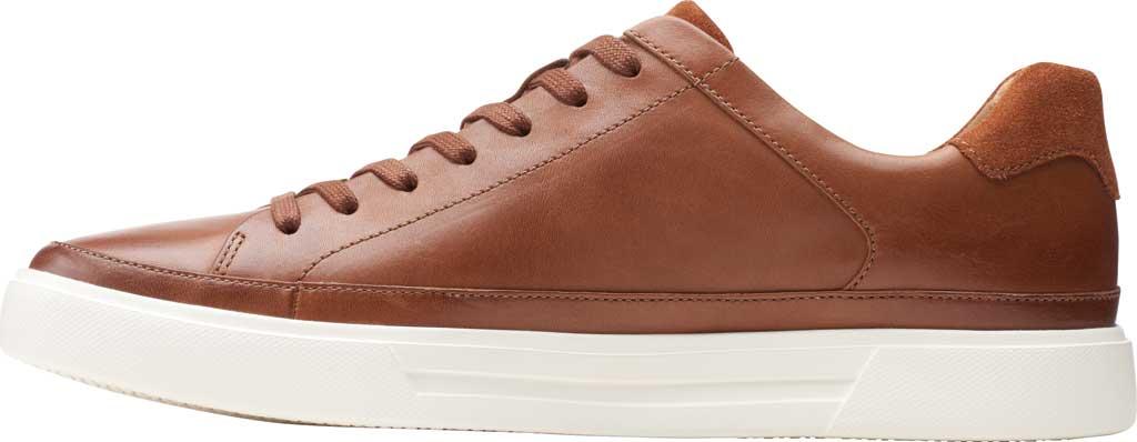 Men's Clarks Un Costa Tie Sneaker, British Tan Full Grain Leather/Nubuck, large, image 3