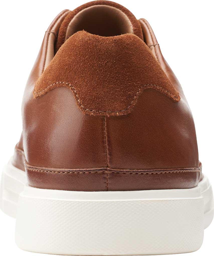 Men's Clarks Un Costa Tie Sneaker, British Tan Full Grain Leather/Nubuck, large, image 4