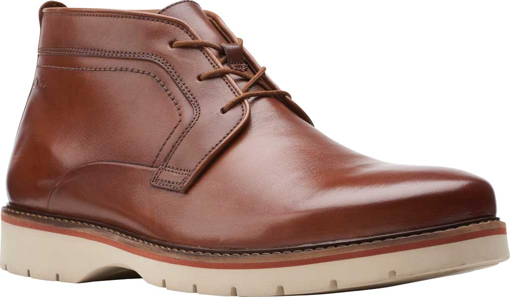 Men's Clarks Bayhill Mid Chukka Boot, , large, image 1