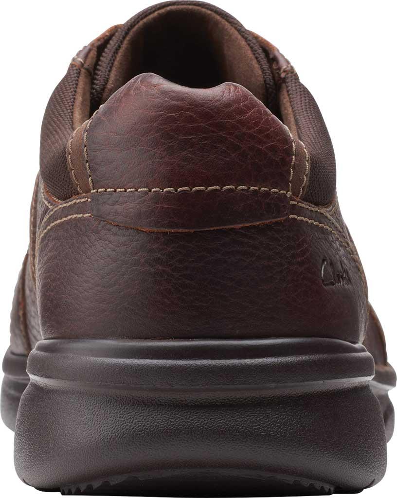 Men's Clarks Bradley Walk Oxford, Brown Tumbled Leather, large, image 4