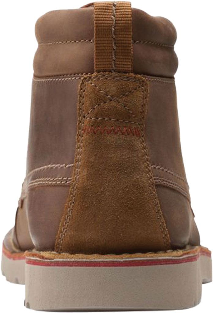 Men's Clarks Vargo Moc Toe Boot, Beeswax Full Grain Leather, large, image 4