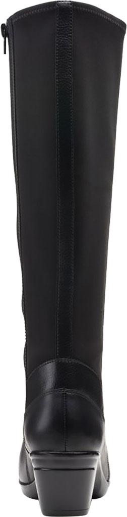 Women's Clarks Emslie Emma Knee High Boot, Black Leather, large, image 4