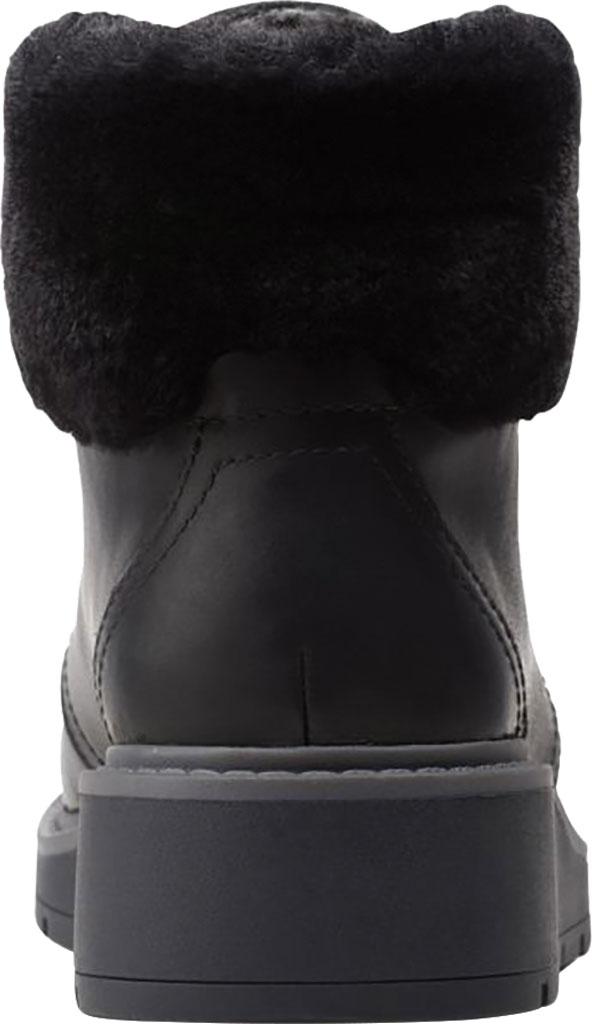 Women's Clarks Andie Go Waterproof Boot, Black Waterproof Full Grain Leather, large, image 4