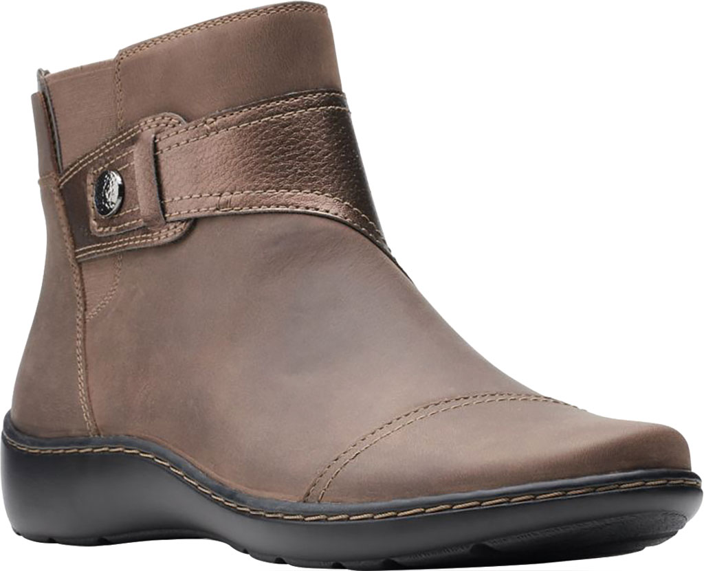 Women's Clarks Cora Tropic Ankle Bootie, , large, image 1