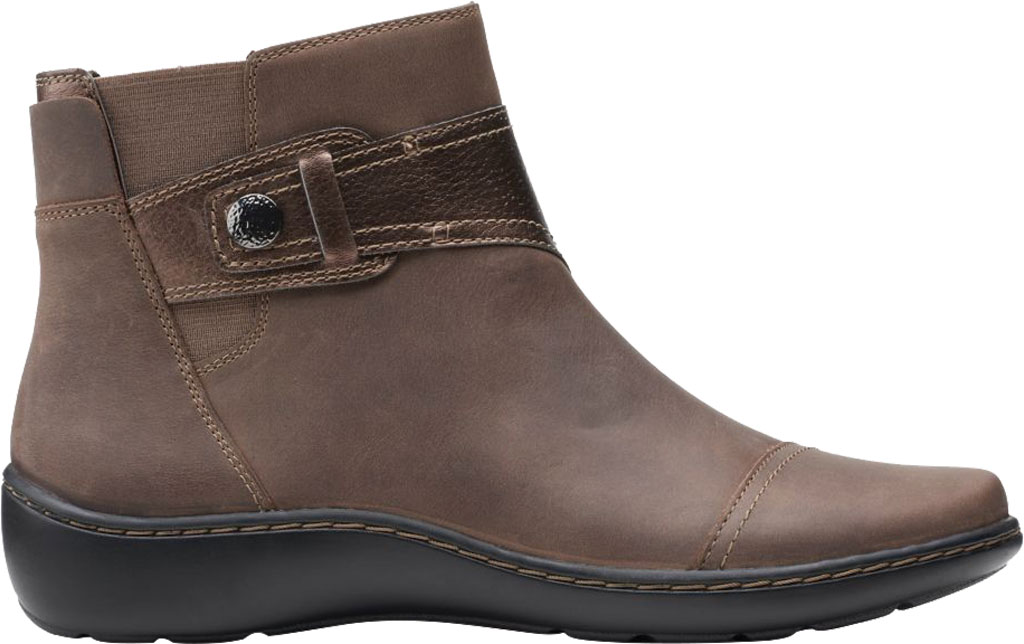 Women's Clarks Cora Tropic Ankle Bootie, , large, image 2