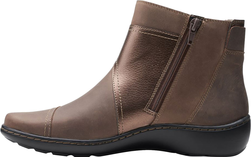 Women's Clarks Cora Tropic Ankle Bootie, , large, image 3