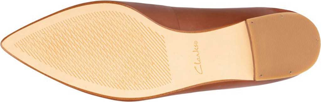 Women's Clarks Laina15 2 Loafer, Dark Tan Combination Leather, large, image 6