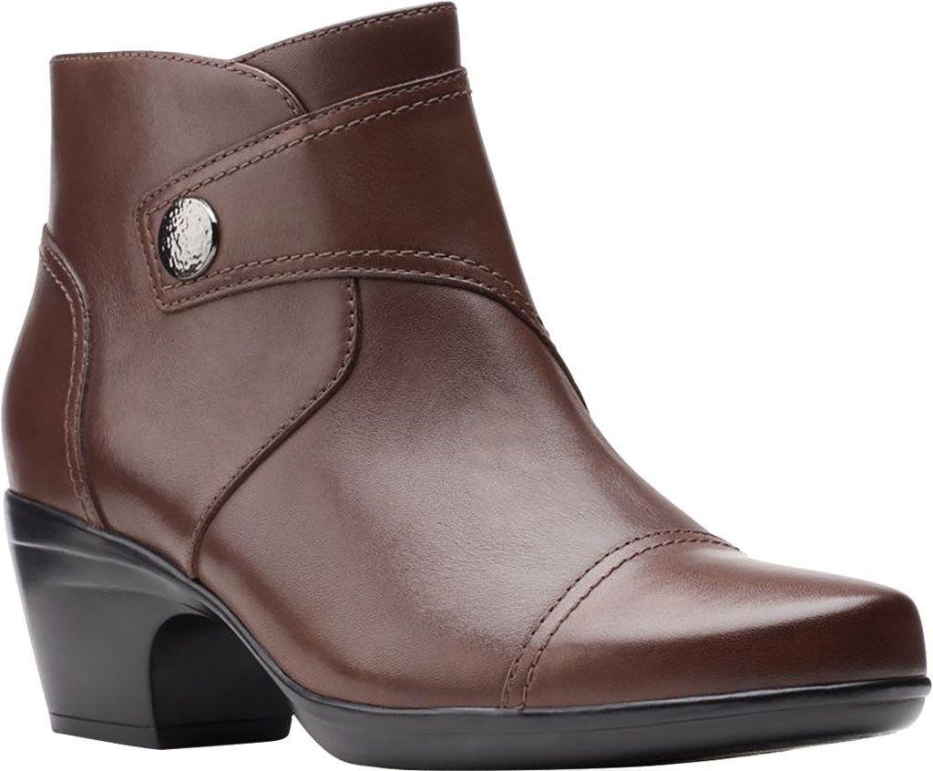 Women's Clarks Emily Calle Ankle Bootie, , large, image 1