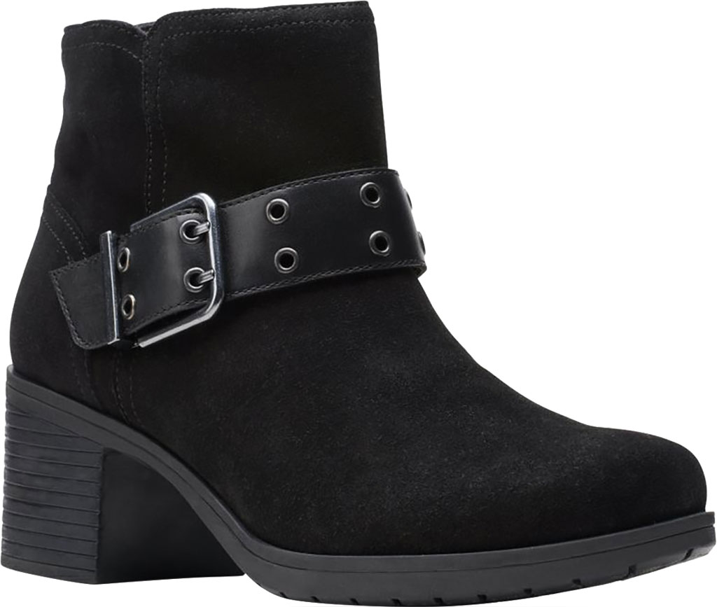 Women's Clarks Hollis Star Ankle Bootie, , large, image 1