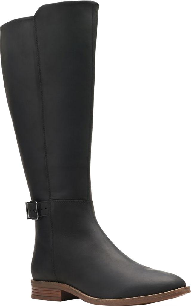 Women's Clarks Camzin Branch Wide Calf Knee High Boot, , large, image 1
