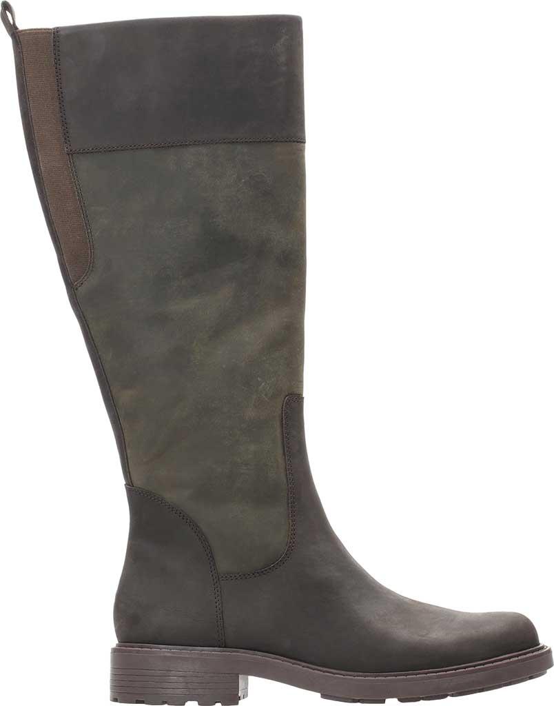 Women's Clarks Orinoco 2 Hi GORE-TEX Boot, Dark Brown Leather, large, image 1