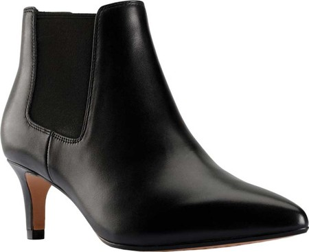 Women's Clarks Laina55 2 Pointed Toe Chelsea Bootie, , large, image 1