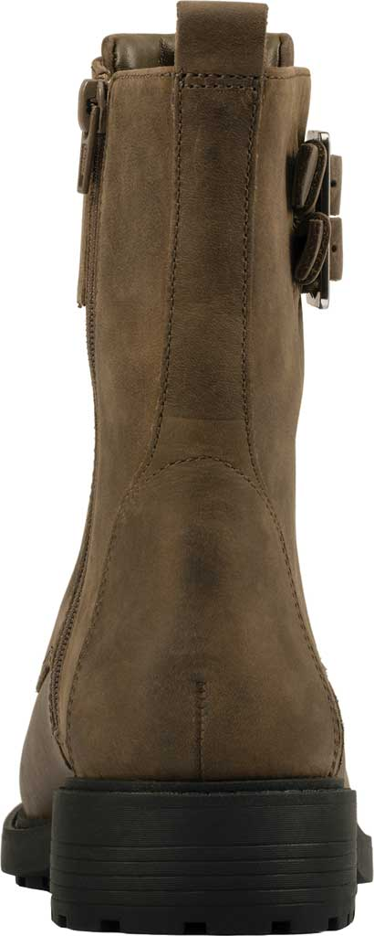 Women's Clarks Orinoco 2 Lace Mid Calf Boot, Dark Olive Leather, large, image 4