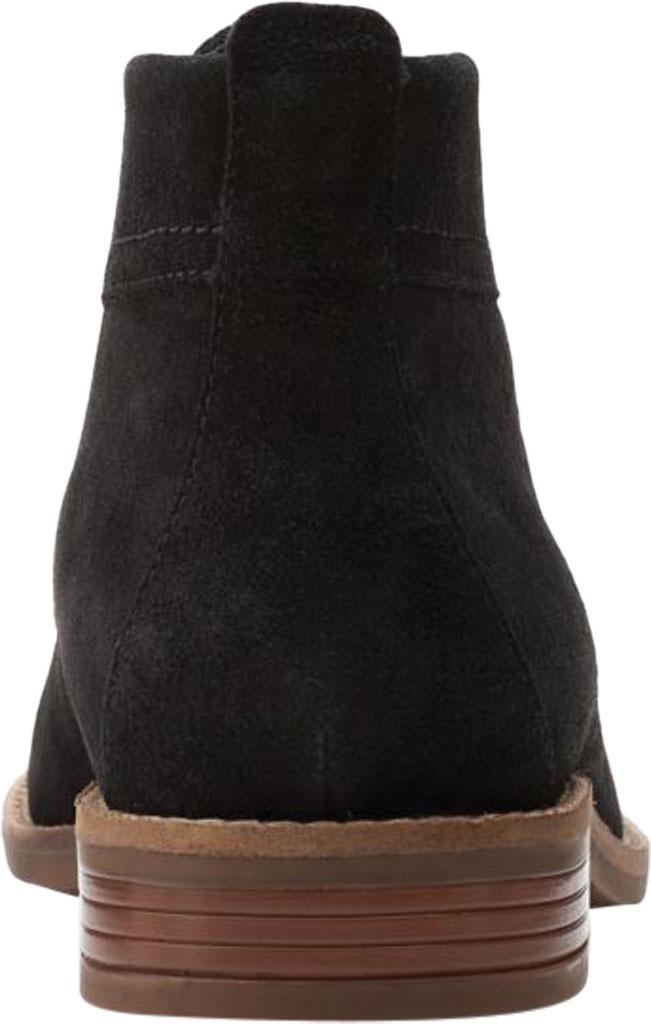 Women's Clarks Camzin Grace Chukka Boot, Black Suede, large, image 4