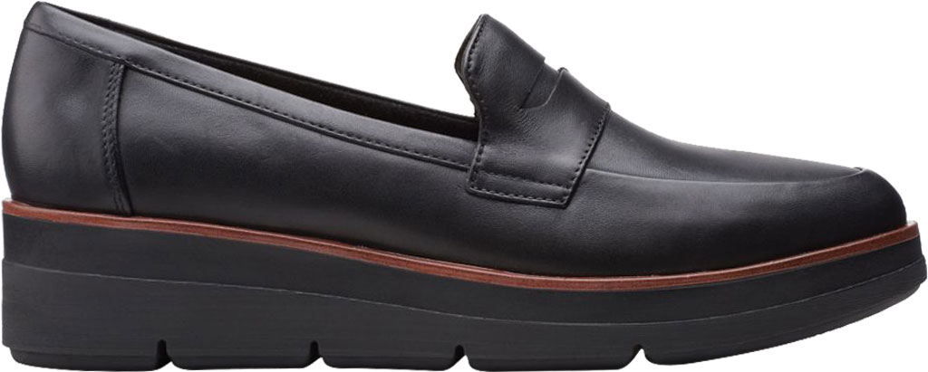 Women's Clarks Shaylin Step Wedge Penny Loafer, , large, image 2