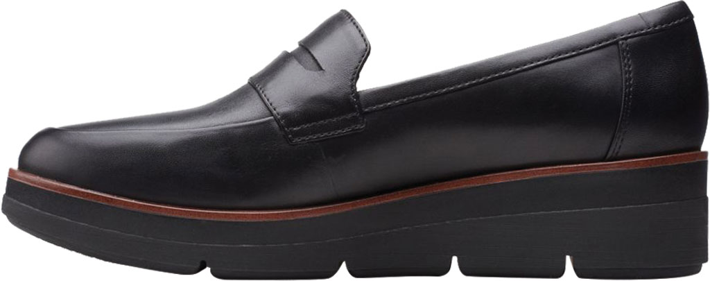 Women's Clarks Shaylin Step Wedge Penny Loafer, , large, image 3