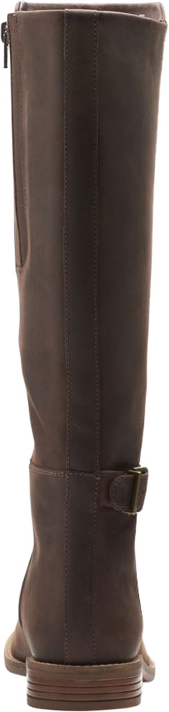 Women's Clarks Camzin Branch Knee High Boot, Dark Brown Leather, large, image 4