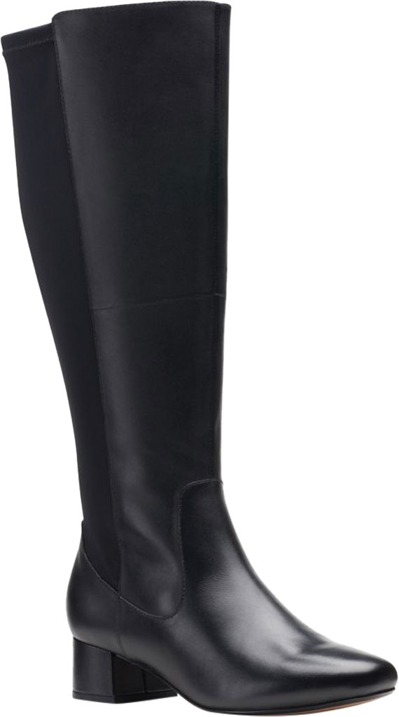 Women's Clarks Marilyn Abby Wide Calf Knee High Boot, , large, image 1