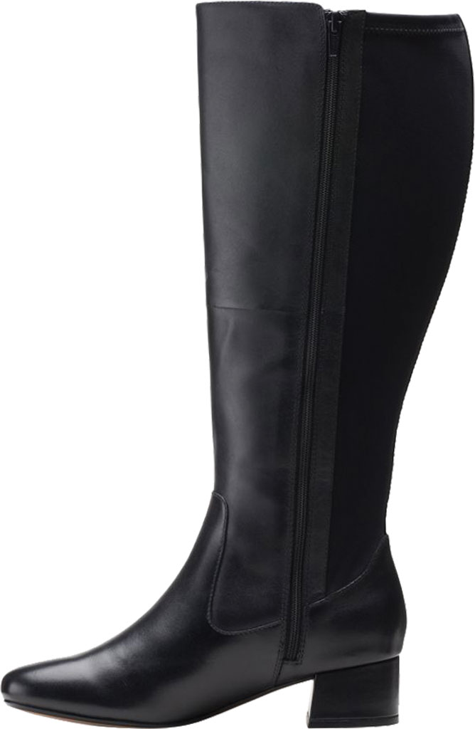 Women's Clarks Marilyn Abby Wide Calf Knee High Boot, , large, image 3