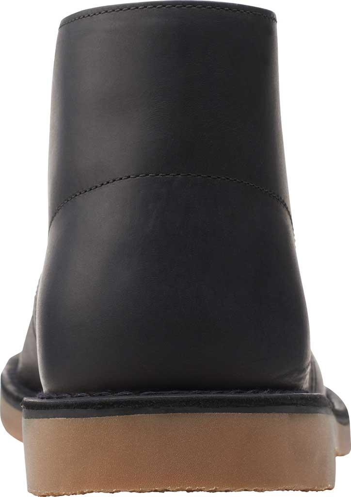 Men's Clarks Bushacre 3 Chukka Boot, Black Full Grain Leather, large, image 4