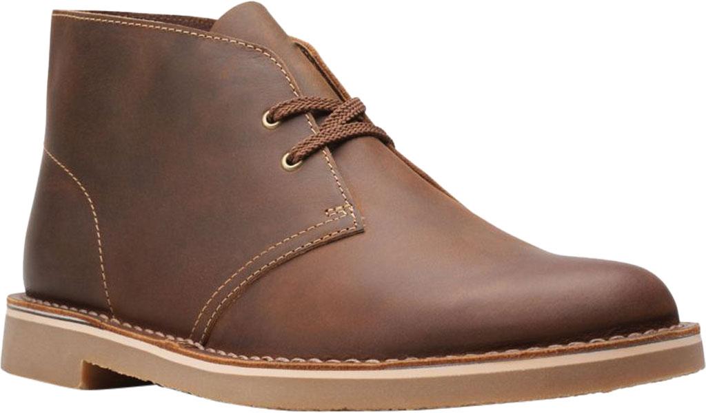 Men's Clarks Bushacre 3 Chukka Boot, Beeswax Full Grain Leather, large, image 1