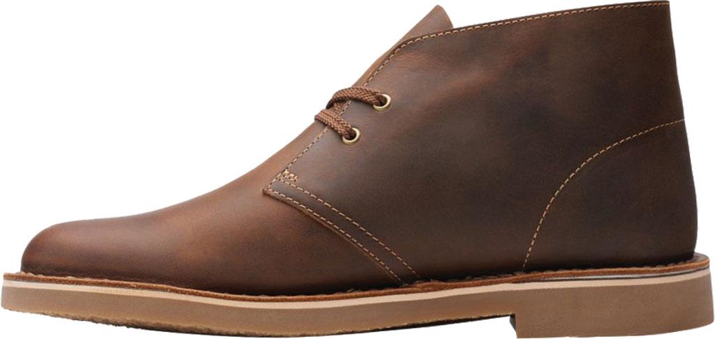 Men's Clarks Bushacre 3 Chukka Boot, Beeswax Full Grain Leather, large, image 3