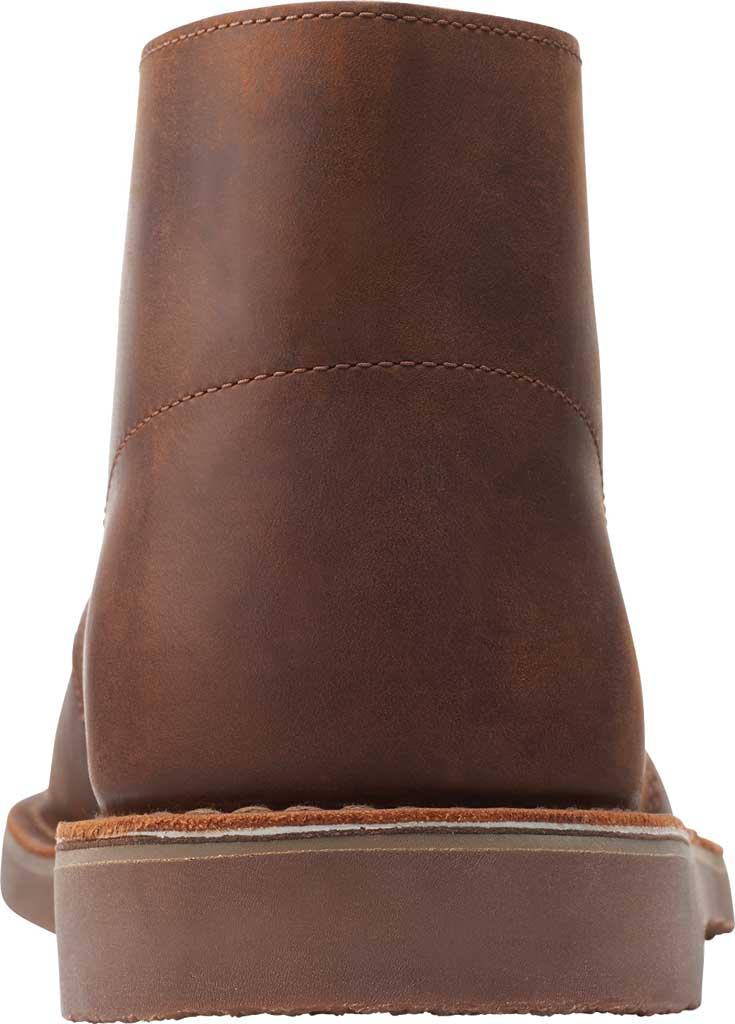Men's Clarks Bushacre 3 Chukka Boot, Dark Brown Full Grain Leather, large, image 4