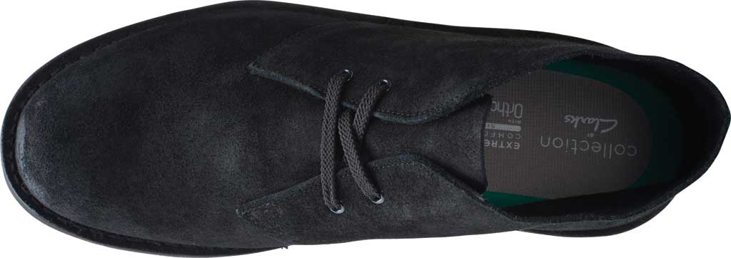Men's Clarks Bushacre 3 Chukka Boot, Black Waxy Suede, large, image 4