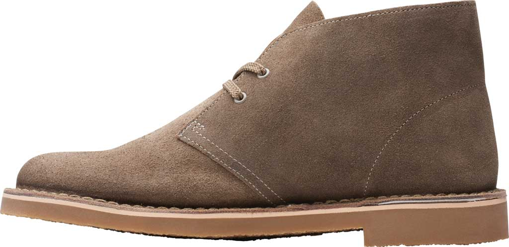 Men's Clarks Bushacre 3 Chukka Boot, Sand Waxy Suede, large, image 3