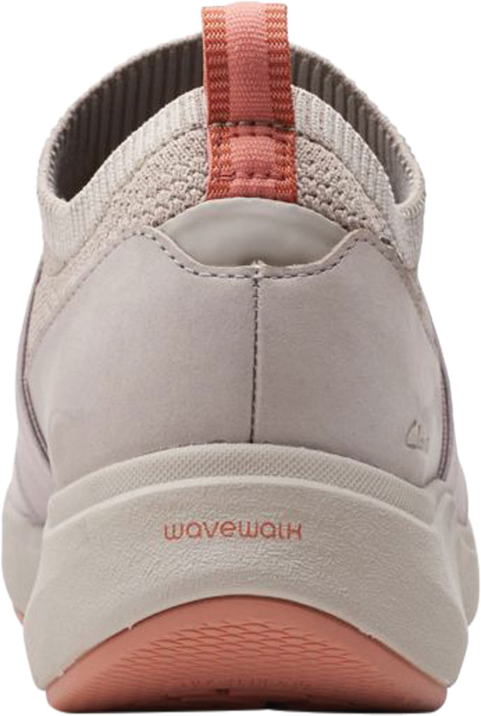 Women's Clarks Wave 2.0 Step Slip On Sneaker, Stone Combination Nubuck/Textile, large, image 4