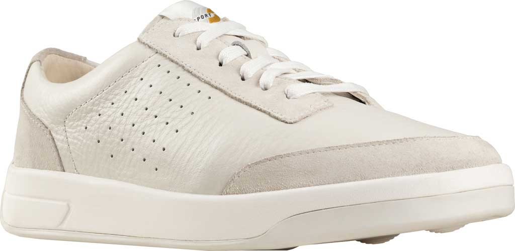Women's Clarks Hero Air Lace Sneaker, White Leather, large, image 1