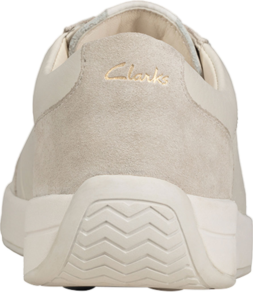 Women's Clarks Hero Air Lace Sneaker, White Leather, large, image 4