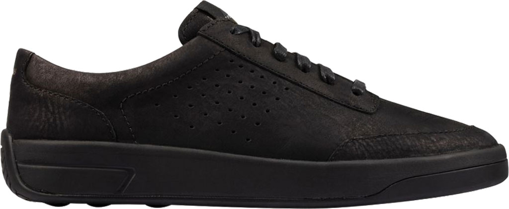 Women's Clarks Hero Air Lace Sneaker, Black Suede, large, image 2