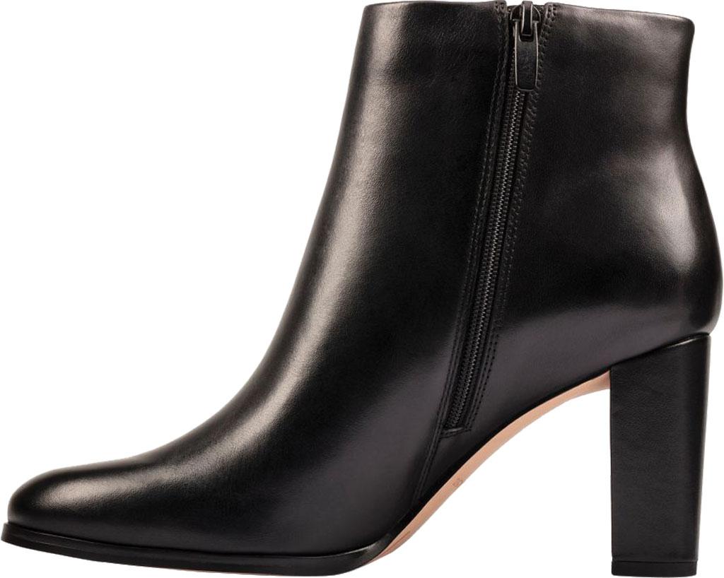 Women's Clarks Kaylin Fern 2 Ankle Bootie, Black Leather, large, image 3