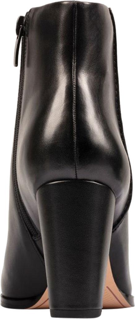 Women's Clarks Kaylin Fern 2 Ankle Bootie, Black Leather, large, image 4