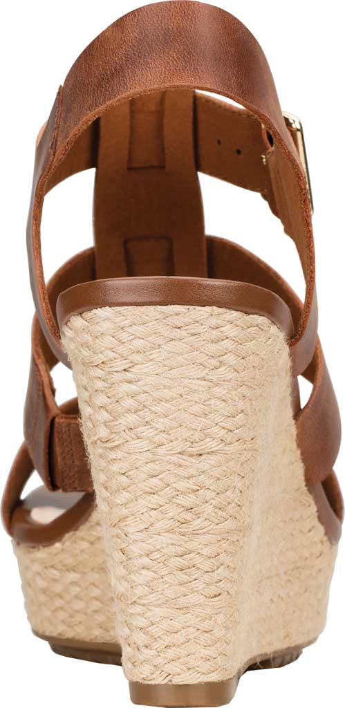 Women's Clarks Maritsa95 Glad Wedge Slingback, Tan Full Grain Leather, large, image 3