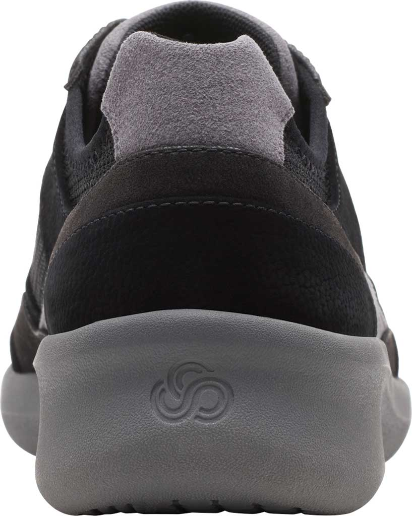 Women's Clarks Sillian 2.0 Lace Sneaker, Black Fabric, large, image 4