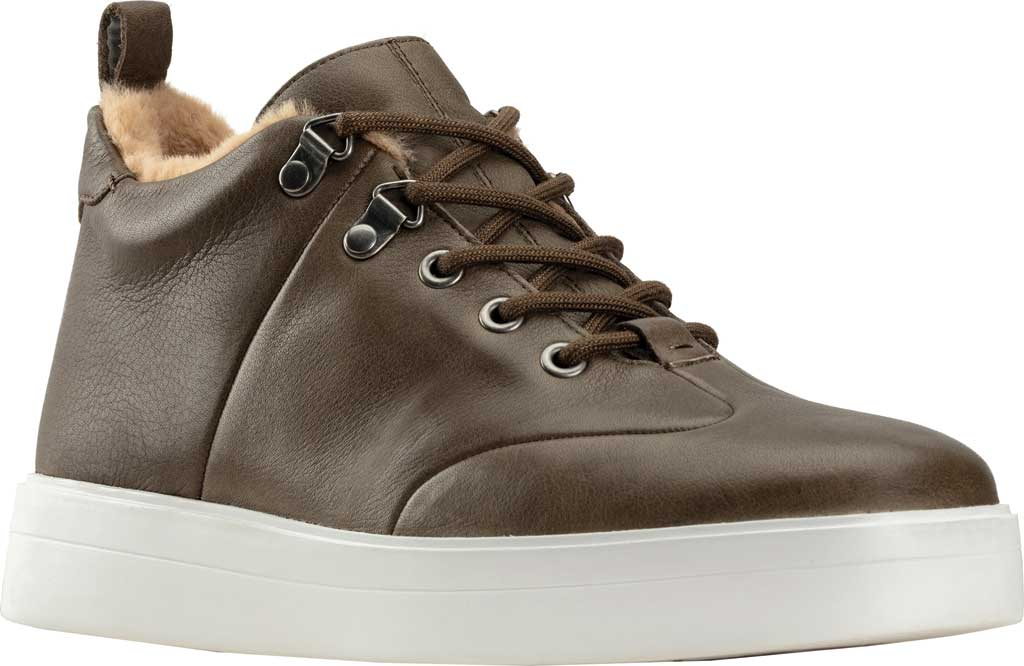 Women's Clarks Hero Hiker Sneaker, Army Warm Lined Leather, large, image 1