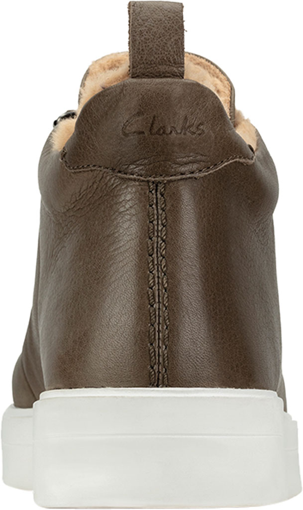Women's Clarks Hero Hiker Sneaker, Army Warm Lined Leather, large, image 4