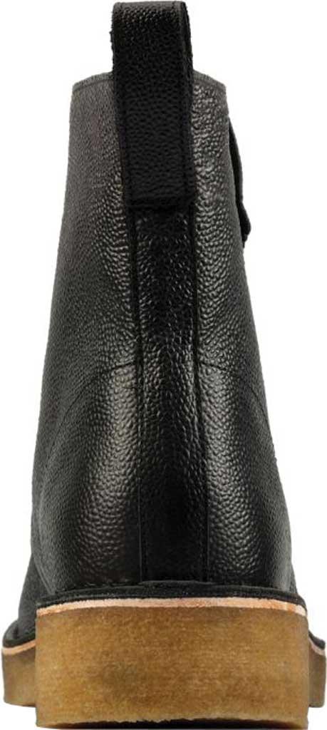 Men's Clarks Desert Mali 2 6-Eye Boot, Black Scotch Grain Leather, large, image 4