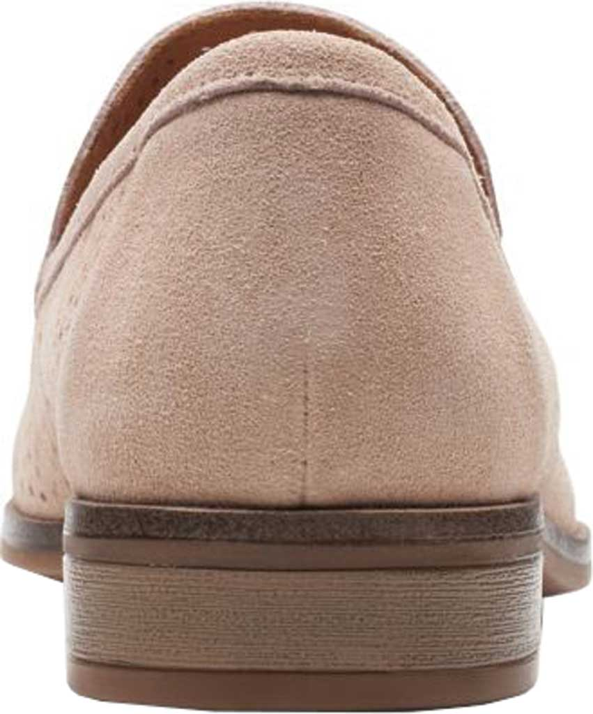 Women's Clarks Trish Calla Loafer, Sand Suede, large, image 4