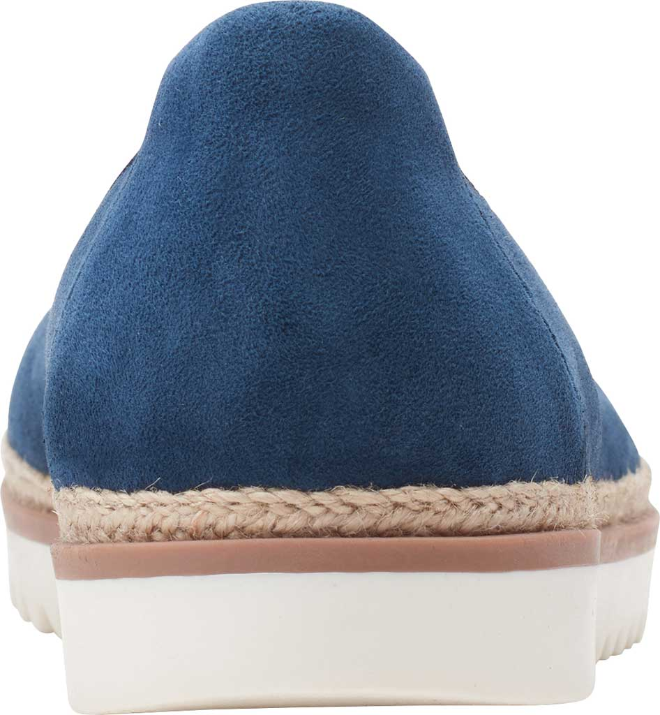 Women's Clarks Serena Kellyn Ballet Flat, Navy Perforated Suede, large, image 4
