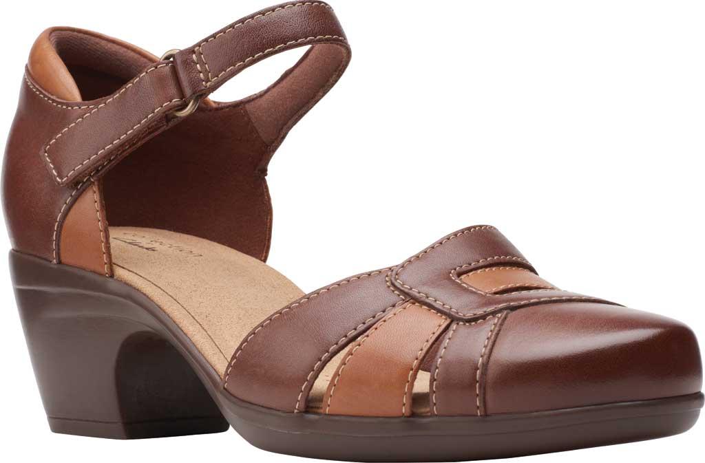 Women's Clarks Emily Daisy Ankle Strap Closed Toe Sandal, , large, image 1
