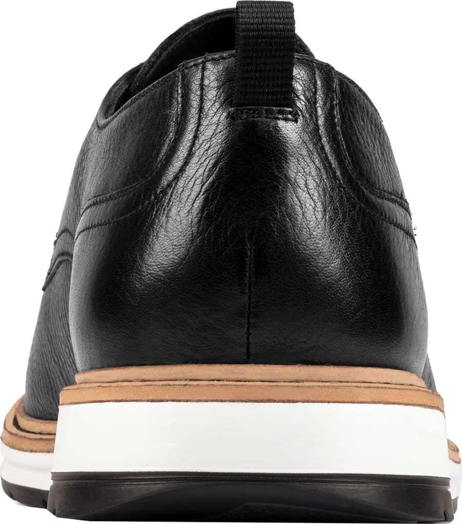 Men's Clarks Chantry Walk Plain Toe Oxford, Black Leather, large, image 4