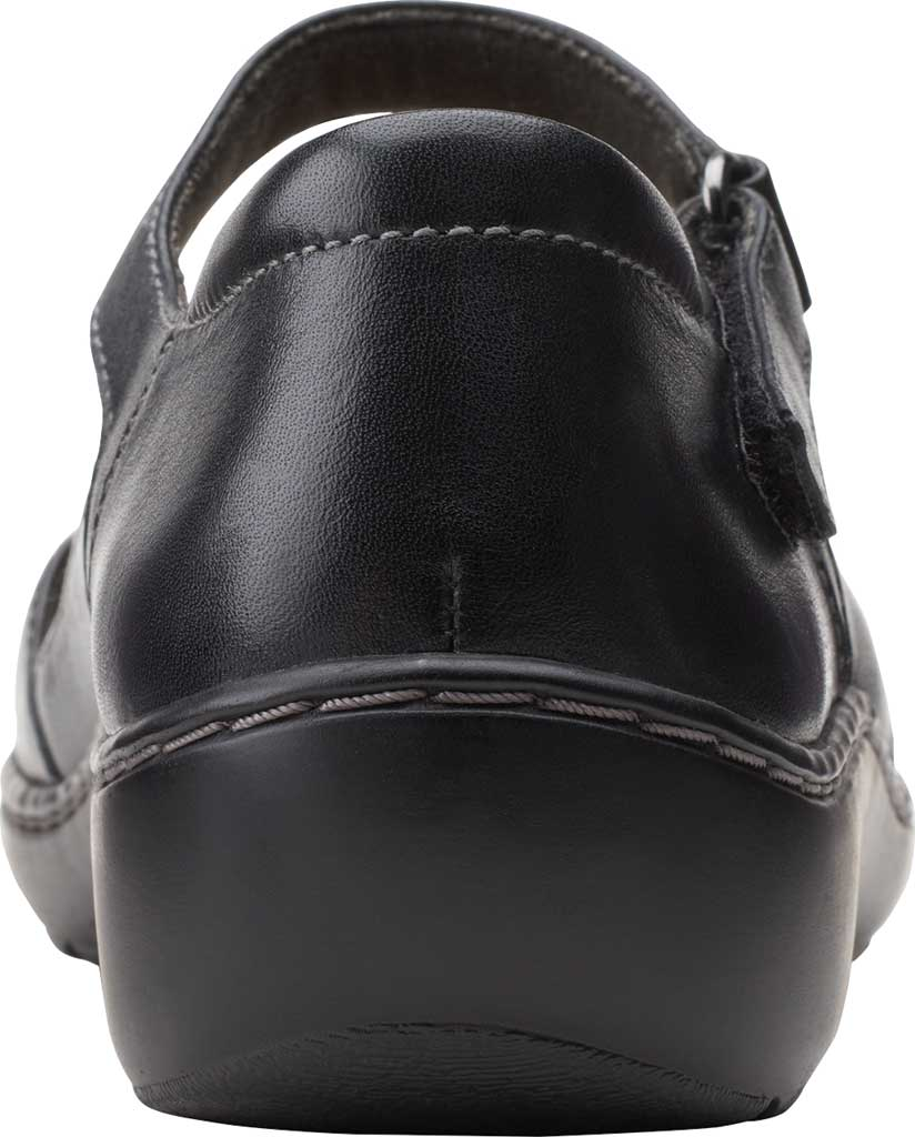 Women's Clarks Cora Abby Mary Jane, Black Leather/Synthetic Combination, large, image 4