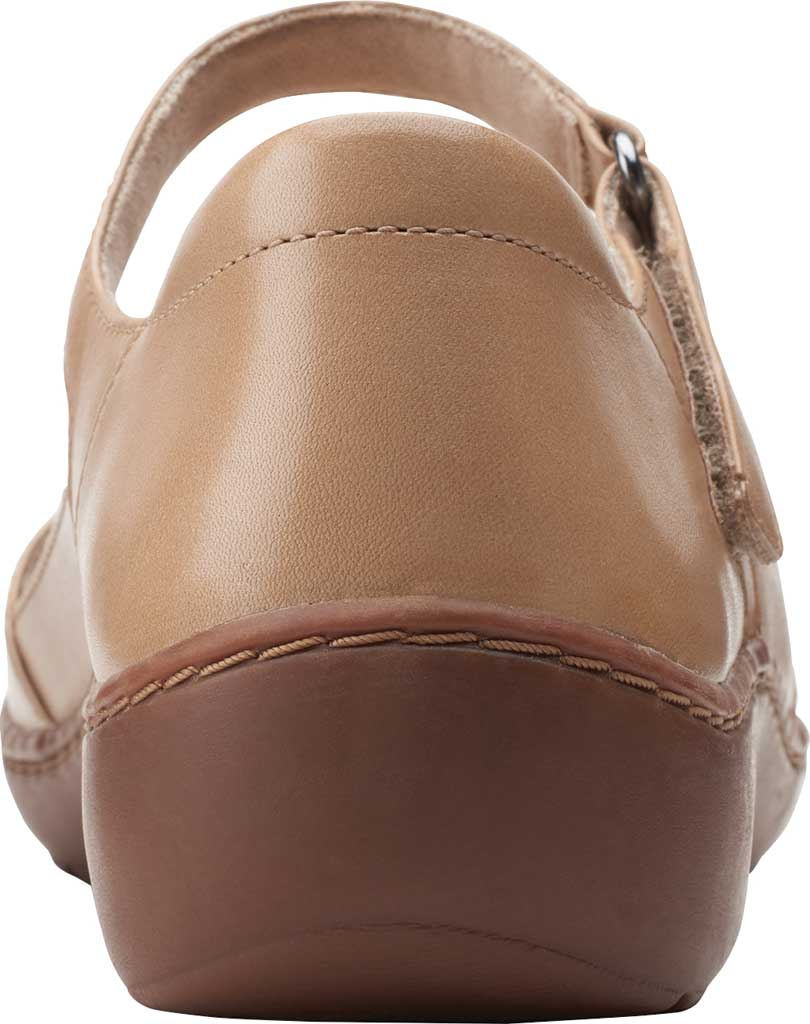 Women's Clarks Cora Abby Mary Jane, Sand Combination Synthetic/Leather, large, image 4