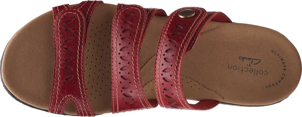 Women's Clarks Laurieann Dee Strappy Slide, , large, image 5
