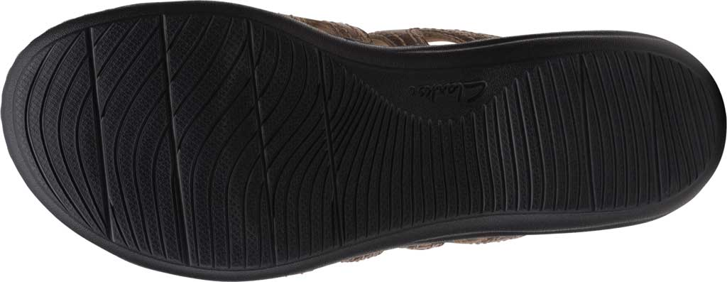 Women's Clarks Laurieann Dee Strappy Slide, Metallic Leather, large, image 6